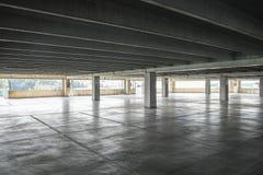 Estacionamento coberto Imagens de Stock