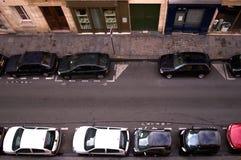 Estacionamento da rua Imagens de Stock Royalty Free