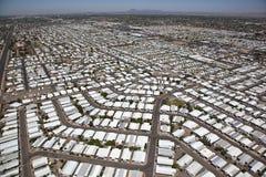 Estacionamento de caravanas Imagens de Stock