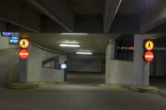 Estacionamento de Undeground Imagens de Stock