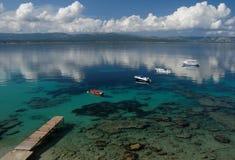 Estacionamento do mar Imagem de Stock
