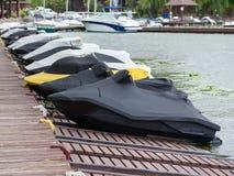 Estacionamento dos barcos Foto de Stock
