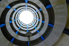 Estacionamento espiral fotografia de stock