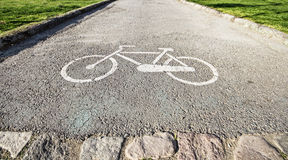 Estacionamento para bicicletas Imagem de Stock Royalty Free