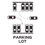 estacionamiento Imágenes de archivo libres de regalías