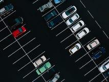 estacionamiento imagen de archivo