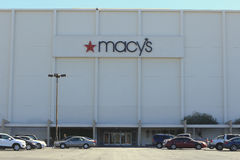 Estacionamiento de los grandes almacenes de Macy foto de archivo libre de regalías