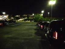 Estacionamiento del aeropuerto Imagenes de archivo