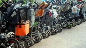 Estacionamiento del bebé Imagenes de archivo