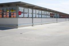 Estacionamiento del tejado Imágenes de archivo libres de regalías