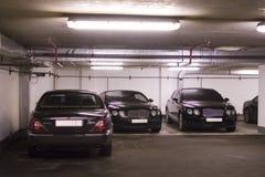 Estacionamiento subterráneo Imagenes de archivo