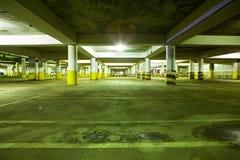 Estacionamiento subterráneo Fotografía de archivo libre de regalías