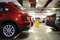 Estacionamiento subterráneo/garaje Imagen de archivo