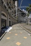 Estacionamiento Sur, Amador, a Cidade do Panamá foto de stock royalty free