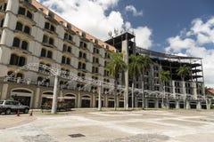 Estacionamiento Sur, Amador, a Cidade do Panamá fotos de stock royalty free
