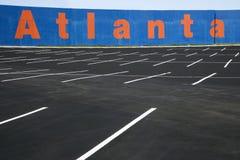 Estacionamiento vacío Foto de archivo