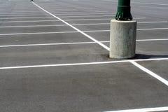 Estacionamiento vacío Fotografía de archivo libre de regalías