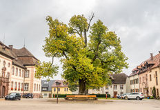 Estacionamientos de la abadía de San Pedro de Schwarzwald Imagen de archivo libre de regalías