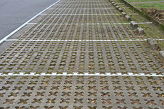 Estacionamientos del coche Imagen de archivo libre de regalías