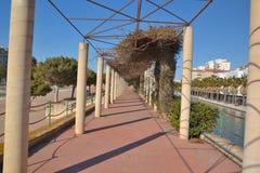 Estacione al oeste de Málaga fotografía de archivo libre de regalías