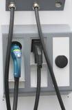 Estaciones de carga para los coches eléctricos Imágenes de archivo libres de regalías