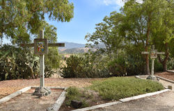 Estaciones de la cruz Imagenes de archivo