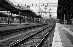 Estaciones de tren Fotos de archivo