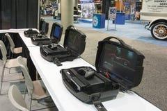 Estaciones móviles del juego Imagenes de archivo