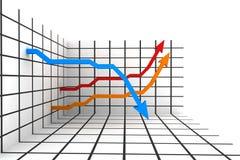 estadísticas 3d ilustración del vector