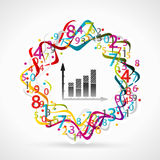 Estadísticas stock de ilustración