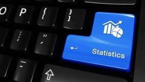 286 Estadísticas que mueven el movimiento en el botón del teclado de ordenador stock de ilustración