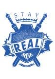 Estada real Fotografia de Stock Royalty Free