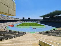 Estadi Olimpic in Barcelona Stock Photo