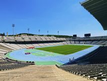 Estadi Olimpic in Barcelona Royalty Free Stock Photo