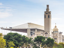 Estadi Olimpic de Montjuic (Montjuich Olympic Stadium) Royalty Free Stock Photos