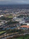 Estadia de los deportes de Melbourne Fotografía de archivo libre de regalías