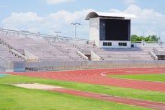 Estadio antes Imagen de archivo libre de regalías