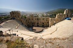 Estadio antiguo en acrópolis Foto de archivo libre de regalías