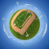 Estadio atlético stock de ilustración