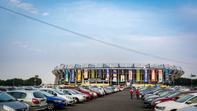 Estadio Azteca Football Soccer Stadium in Mexico City Royalty Free Stock Photo