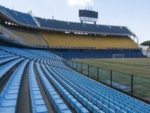 Estadio Boca Juniors La Bombonera Barrio La Boca Buenos Aires la Argentina América latina Suramérica agradable fotos de archivo libres de regalías