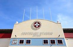 Estadio centenario, Malta fotografía de archivo