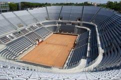 Estadio central del tenis fotos de archivo
