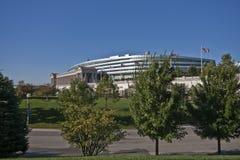 Estadio Chicago del campo del soldado Foto de archivo libre de regalías