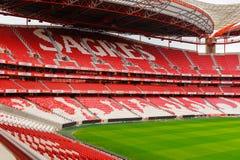 Estadio da Luz, domowy stadium dla S (stadium of light) L ben Obrazy Royalty Free