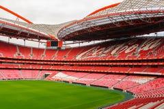 Estadio da Luz, domowy stadium dla S (stadium of light) L ben Fotografia Royalty Free