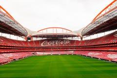 Estadio da Luz, domowy stadium dla S (stadium of light) L ben Obraz Royalty Free