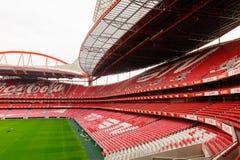 Estadio da Luz, domowy stadium dla S (stadium of light) L ben Obraz Stock
