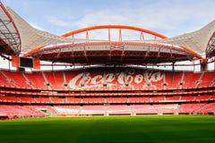 Estadio da Luz, domowy stadium dla S (stadium of light) L ben Zdjęcia Stock