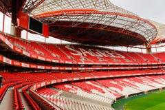 Estadio da Luz (Stadium of Light), home stadium for the S. L. Ben royalty free stock photo